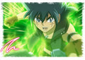 kyoya the fire - beyblade-metal-fury fan art