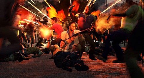 Left 4 Dead 2 fond d'écran with a concert entitled Left 4 Dead 2