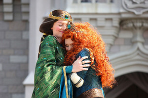 merida AND her mom