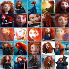 merida from Ribelle - The Brave