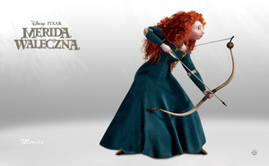 merida the Храбрая сердцем
