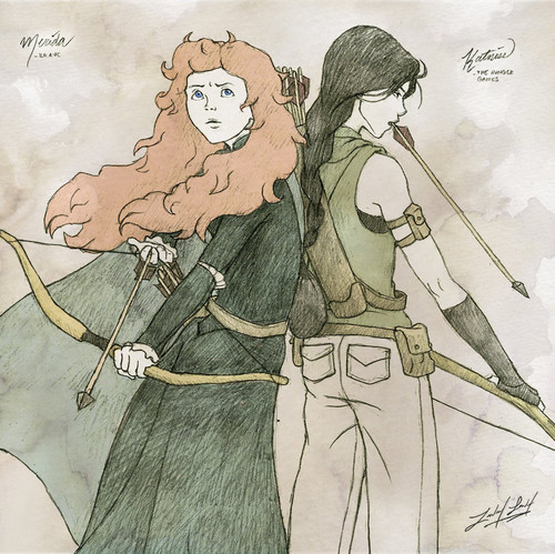 Rebelle fond d'écran with animé entitled merida the Rebelle