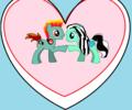 HoltxFrankie as Ponies