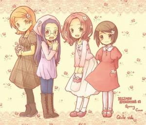 digimon girls----------