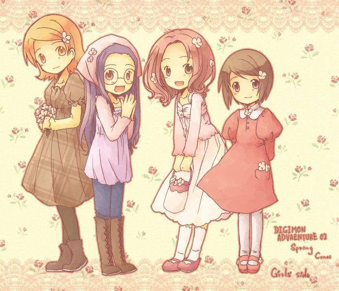digimon girls----------
