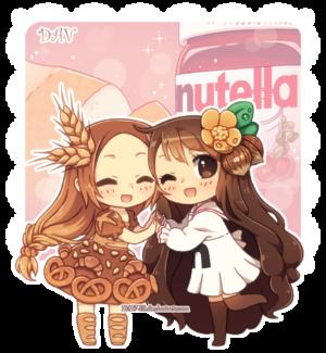 빵 x nutella---------