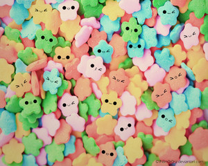kawaii candys stars----