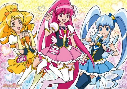 pretty cure achtergrond with anime entitled Hapiness Charge Precure