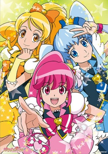 pretty cure 壁紙 with アニメ called Hapiness Charge Precure