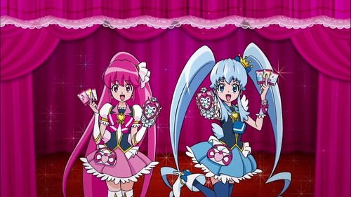 pretty cure 壁纸 titled Hapiness Charge Precure
