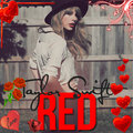 red tylor swift edit - taylor-swift fan art