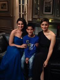 with parineeti chopra