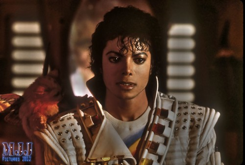 """Disney wallpaper possibly with a portrait titled """"Captain Eo"""""""