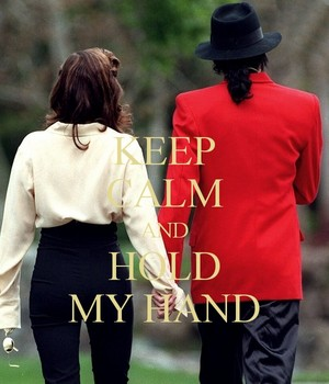 ♥ Keep Calm and Hold My Hand ♥