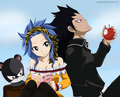 *Lilly / Levy / Gajeel*