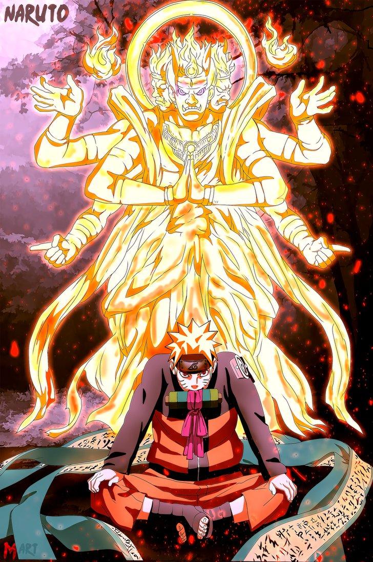 *Naruto Asura Chakra*