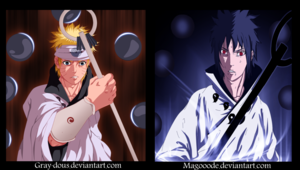 *Naruto Sasuke Sage of Six Path*