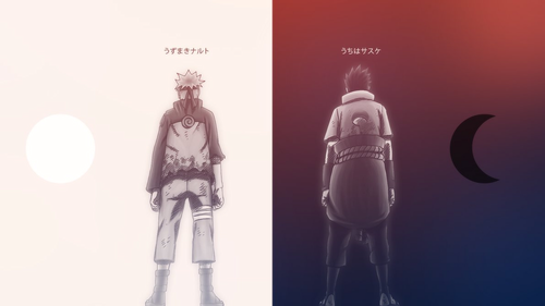 Naruto Shippuuden wallpaper entitled *Naruto/Sasuke*