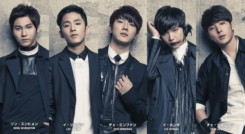 F.T. Island wallpaper with a well dressed person titled 'New Page'