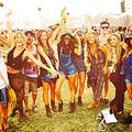Nina Dobrev with friends Coachella 2014
