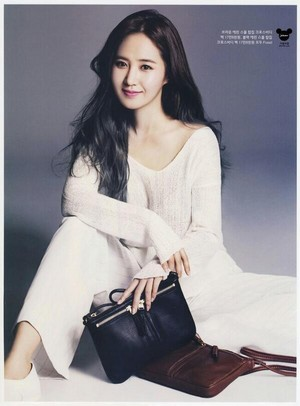 [SCAN] Yuri - InStyle May Issue (v/891205com)