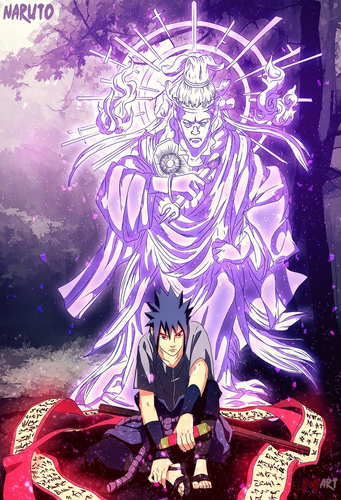 naruto shippuuden wallpaper called *Sasuke Indra Chakra*