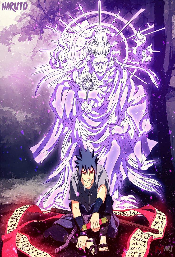 *Sasuke Indra Chakra*