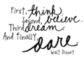 Walt Disney - quotes photo