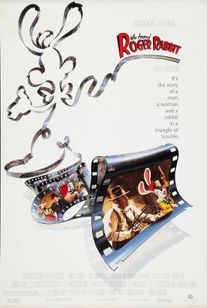 """""""Who Framed Roger Rabbit"""" Movie Poster"""