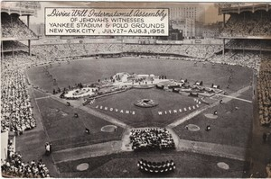 1958 District Convention At Yankee Stadium