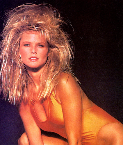 Christie Brinkley wallpaper probably containing attractiveness and skin titled 1985 calendar