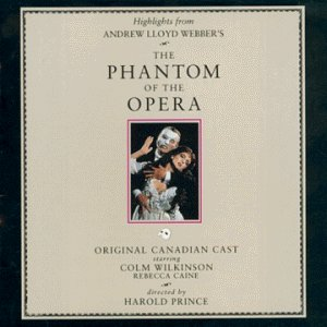 1989 Original Canadian Cast Recording Cover