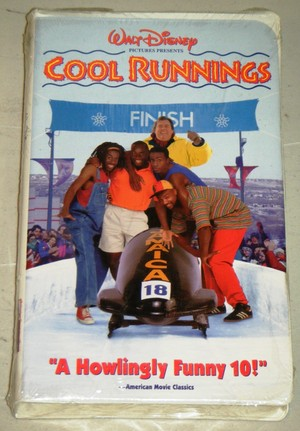 "1993 Disney Film, ""Cool Runnings"", On home video cassette, videocassetta"