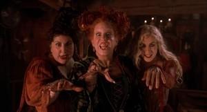 """1993 disney Film, """"Hocus Poocus"""""""