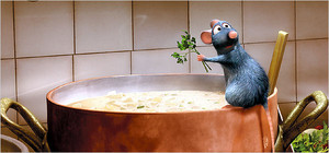 "2007 Computer Animated Disney Cartoon, ""Rataouille"""