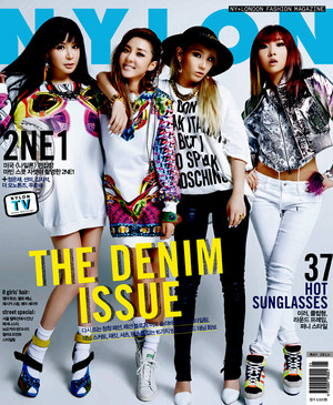 2NE1 Nylon Korea – May 2014 Issue