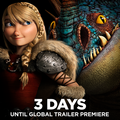 3 Days until the new Dragons 2 Trailer Global Premiere - how-to-train-your-dragon photo