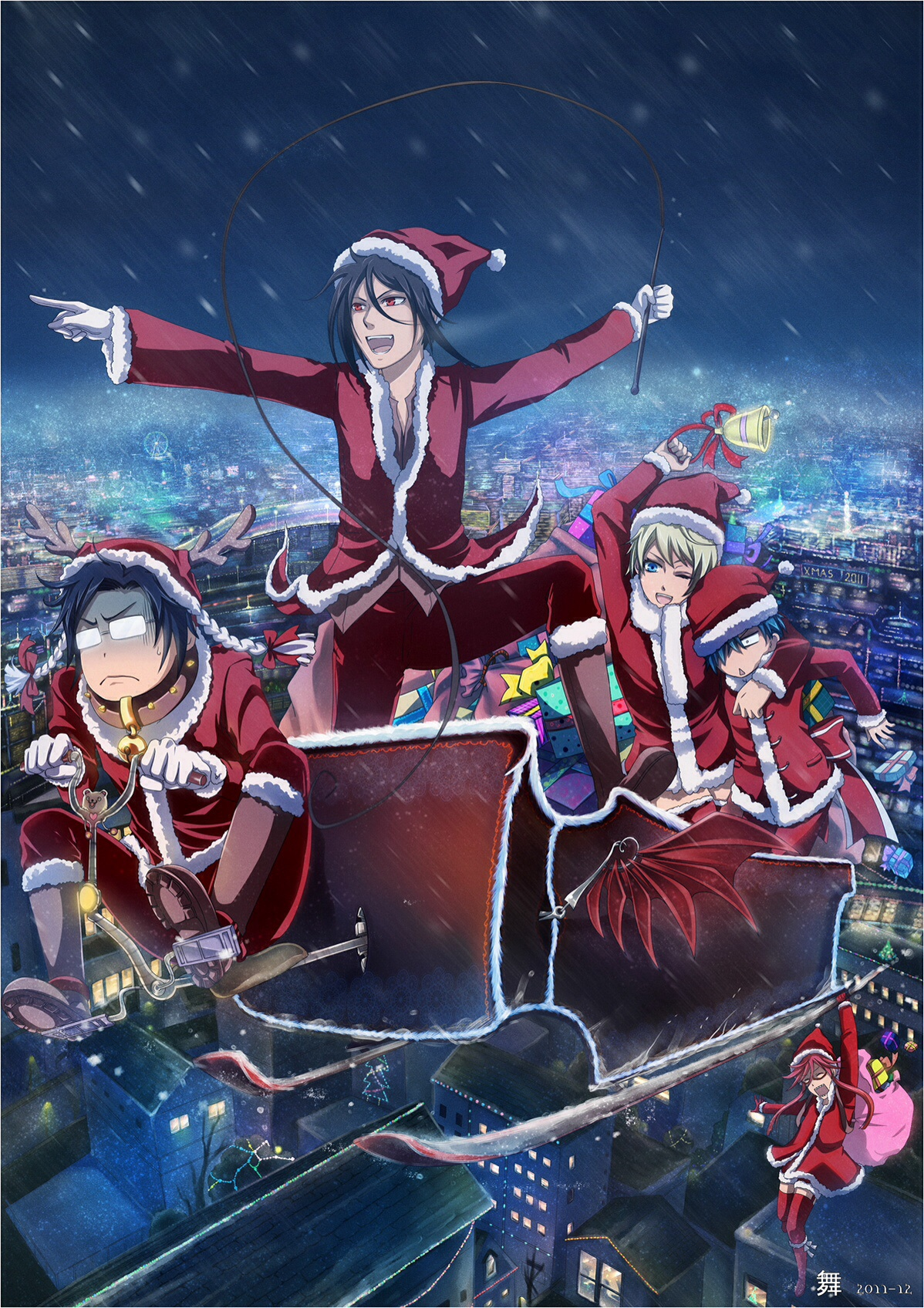 tyger002 images a black butler christmas hd wallpaper and background photos - Black Butler Christmas