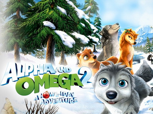 Alpha and Omega 2: a howl-iday adventure Hintergrund entitled A