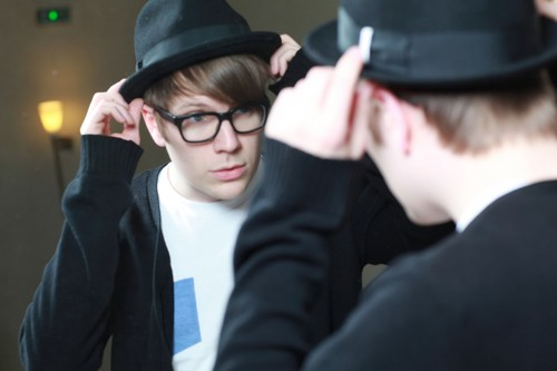 Patrick Stump wallpaper possibly containing a business suit titled ADORABLE!!!