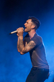 Adam at Bridgestone Arena Nashville TN - adam-levine photo