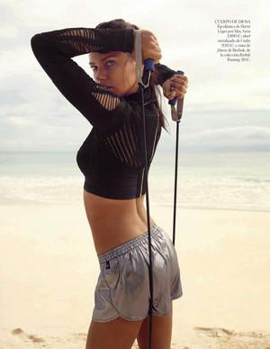 Adriana Lima - Vogue Spain