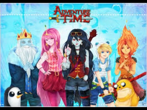 Adventure Time With Finn and Jake wallpaper with anime entitled Adventure Time Anime