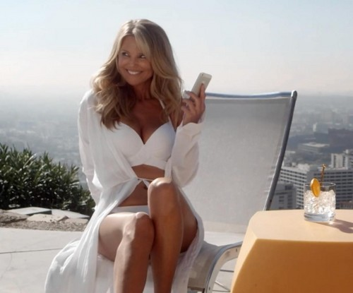 Christie Brinkley wallpaper containing bare legs and skin titled Air New Zealand safety video
