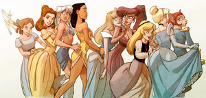 All Disney Leading Ladies