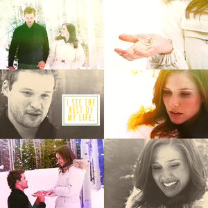 And I see it with you. Marry me, Brooke Davis