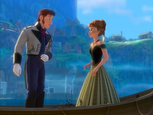 Anna and Hans Meet For the First Time