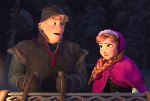 Anna and Kristoff ●