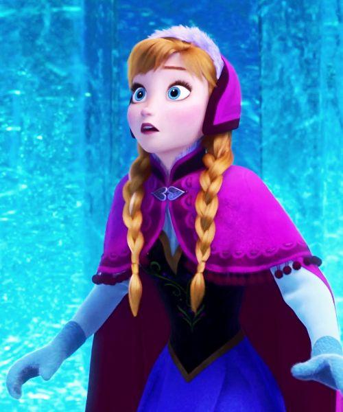 Anna surprised