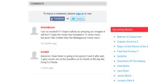 Anticipatory commentaren for POM movie!